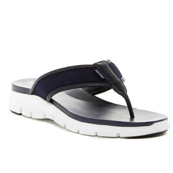 52d5a6d16aba NWT Cole Haan Zerogrand Thong Sandal